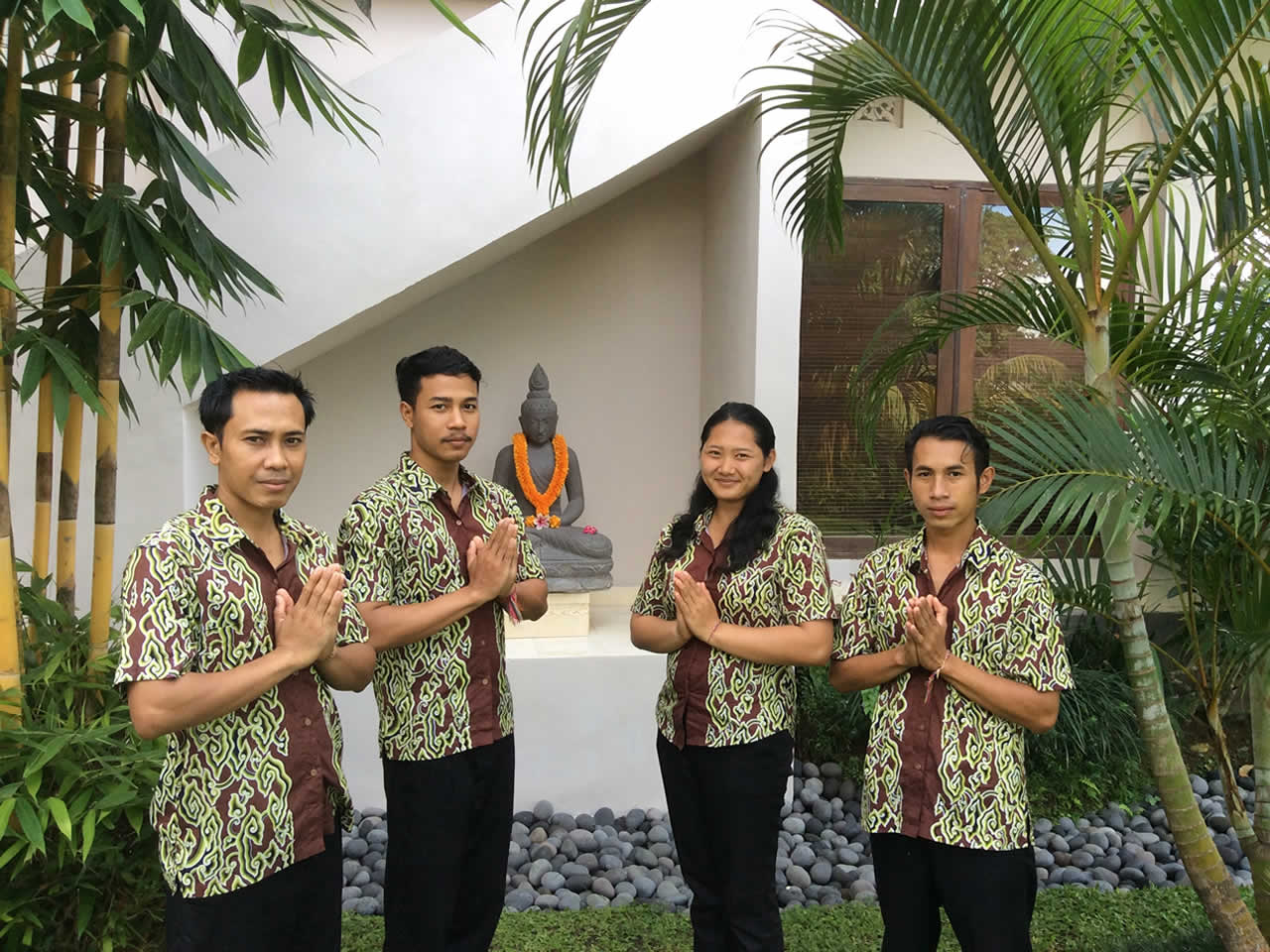 Villa Shantiasa Bali Staff